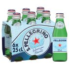 S.Pellegrino sparkling natural mineral water - 6x250ml