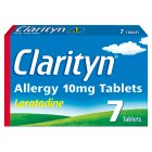 Clarityn allergy tablets - 7s