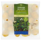 Waitrose Duchy Organic baby potatoes - 500g