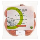 Waitrose organic sweet potatoes - 700g
