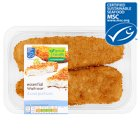 essential Waitrose 2 line caught cod portions in breadcrumbs - 300g