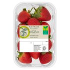 Waitrose Organic Strawberries - 225g
