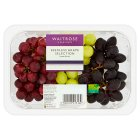 essential Waitrose Seedless Grape Selection - 800g