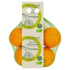 Waitrose Duchy Organic oranges - minimum 3