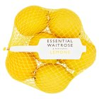 essential Waitrose lemons - 6s