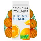 essential Waitrose juicing oranges - 1kg
