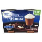 Weight Watchers chocolate & vanilla mousse - 2x80g Brand Price Match - Checked Tesco.com 05/03/2014