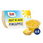 Dole Pineapple (in juice) - drained 4x66g