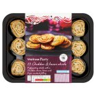 Waitrose 12 cheddar & bacon whirls - 160g