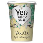Yeo Valley organic fat free vanilla yogurt - 450g Brand Price Match - Checked Tesco.com 04/12/2013