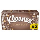 Kleenex Ultrasoft Tissues, twin pack - 2x80 sheets Brand Price Match - Checked Tesco.com 26/03/2015