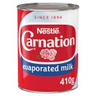 Nestlé Carnation Topping Evaporated Milk 410g - 410g Brand Price Match - Checked Tesco.com 23/07/2014