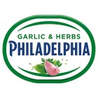 Kraft philadelphia light garlic & herbs - 200g