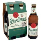 Pilsner Urquell 4 x 330ml Bottles - 4x330ml Brand Price Match - Checked Tesco.com 30/07/2014