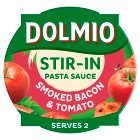 Dolmio Stir-in smoked bacon & tomato sauce - 150g Brand Price Match - Checked Tesco.com 16/07/2014