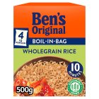 Uncle Ben's boil in bag wholegrain rice - 500g