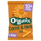 Organix goodies organic carrot stix - 4x15g Brand Price Match - Checked Tesco.com 05/03/2014