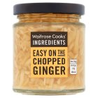 Waitrose Cooks' Ingredients chopped ginger - drained 110g