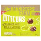 Bannister's Farm littl'uns 6 jacket potatoes