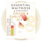 essential Waitrose onion & garlic dip - 230g