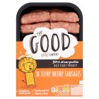 The Good Little Company teeny weeny apple & honey sausages - 306g