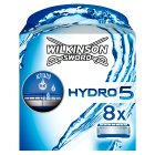 Wilkinson Sword, hydro 5 cartridges - 8s
