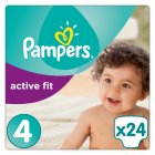 Pampers Active Fit Sz 4 Carry 24 Nappies - 24s
