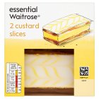 essential Waitrose custard slices - 2s