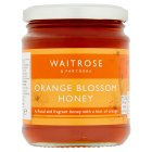Waitrose orange blossom honey - 340g