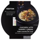 Heston from Waitrose chicken with sherry cream serves two - 700g