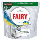 Fairy platinum lemon dishwasher tablets