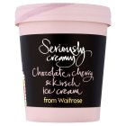 Waitrose S/creamy choc cherry & kirsch - 500ml