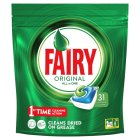 Fairy All In One Original Dishwasher Tablets 34 pack - 553g Brand Price Match - Checked Tesco.com 01/07/2015
