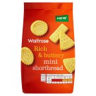 Waitrose mini shortbread - 125g