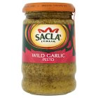 Sacla pesto with wild garlic - 190g Brand Price Match - Checked Tesco.com 02/12/2013