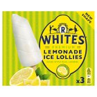 R White's lemonade ice lollies