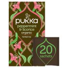Pukka peppermint & licorice 20 tea sachets - 30g New Line