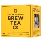 Brew Tea Co English Breakfast 40 Tea Bags - 150g