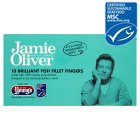 Jamie Oliver 10 brilliant fish fillet fingers - 300g
