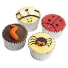 Fiona Cairns Creepy Crawly Party Cakes - each