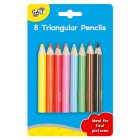Galt triangular pencils, pack of 8 - 8s