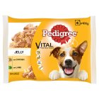 Pedigree Pouches with Chicken and Lamb in Jelly - 4x100g