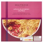 Waitrose Apple & Blackberry Crumble - 500g