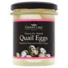 Clarence Court quail eggs - drained 105g