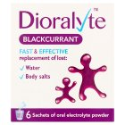 Dioralyte blackcurrant - 6s