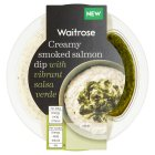 Waitrose smoked salmon dip with salsa verde - 130g