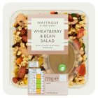 Waitrose wheatberry & bean salad - 220g
