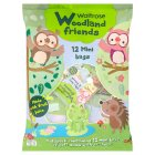 Woodland Friends 12 mini bags soft gums & stickers - 288g