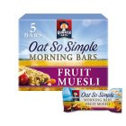 Quaker Oat So Simple fruit muesli morning bars - 5x35g