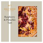 Waitrose 1 Raspberry Pistachio & Rose Tart - 349g Introductory Offer